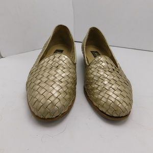 Selby Active Womens Shoes Size 8 1/2 B/2A Gold
